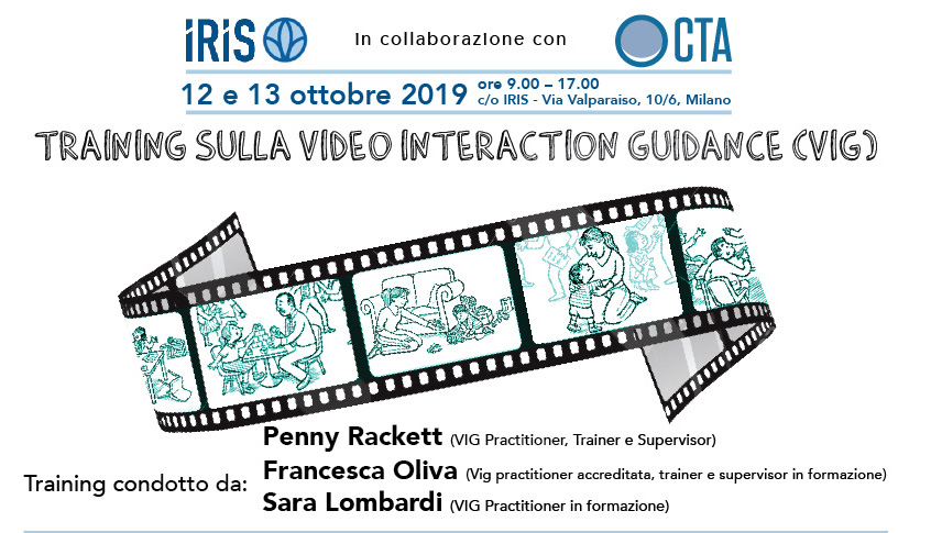 TRAINING SULLA VIDEO INTERACTION GUIDANCE (VIG) - 12 e 13 ottobre 2019 PENNY RACKETT, SARA LOMBARDI
